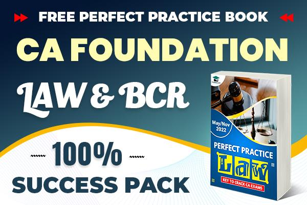Law & BCR Combo Pack : CA Foundation cover