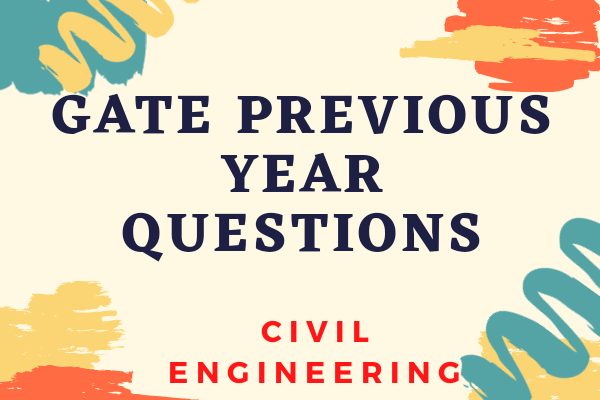 GATE Previous Year Papers for CIVIL Engineering cover