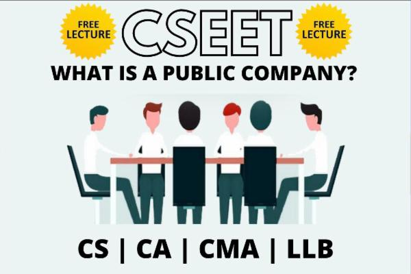 What is a Public Company cover