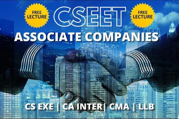Associate Companies cover