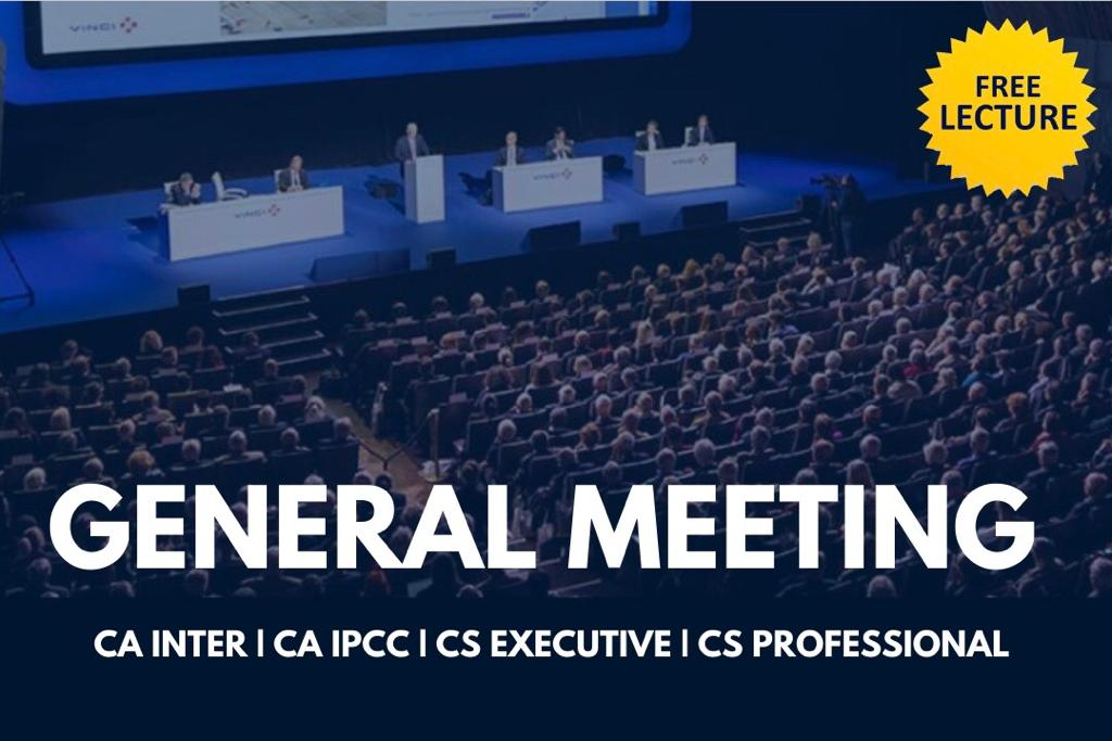 General Meeting cover