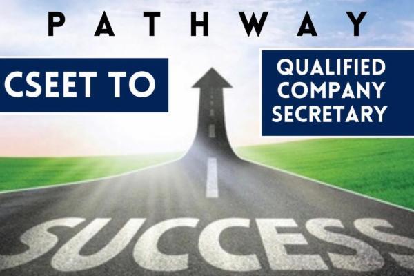 Pathway - CSEET to Qualified Company Secretary cover