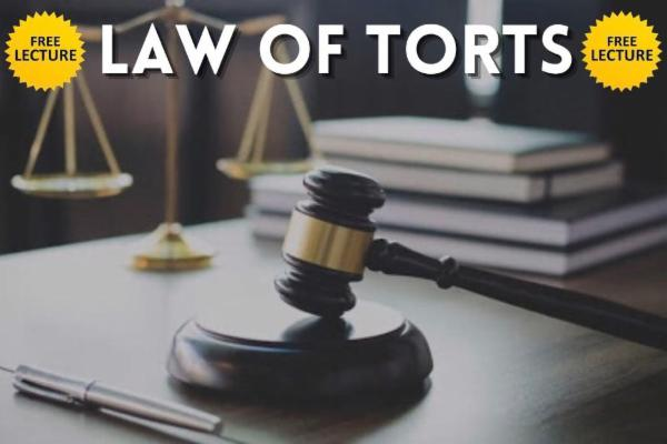 Law of Torts cover