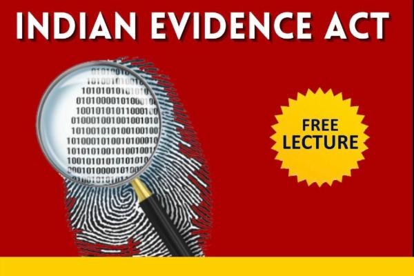 Indian Evidence Act,1872 cover