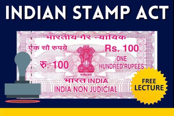 Indian Stamp Act cover
