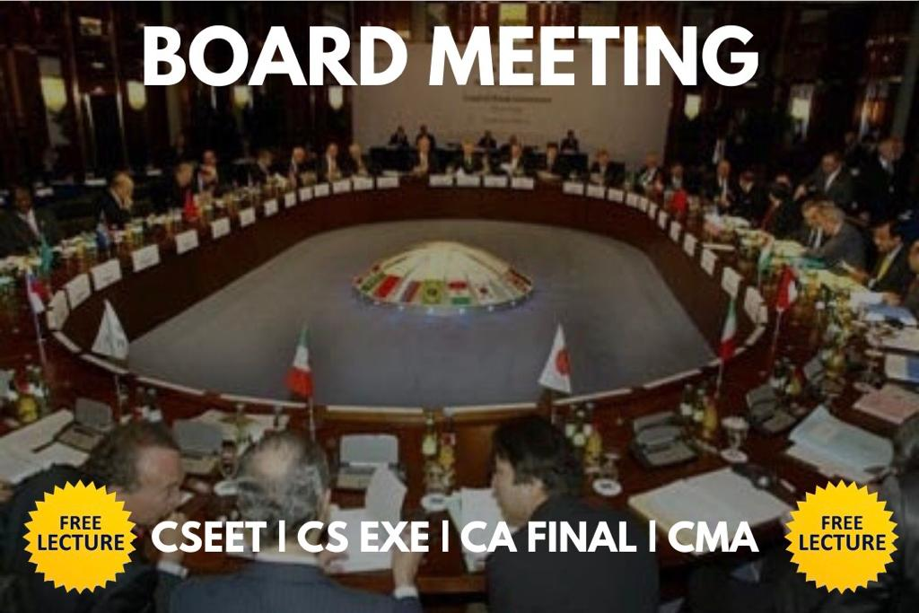 Board Meeting_CSEET cover