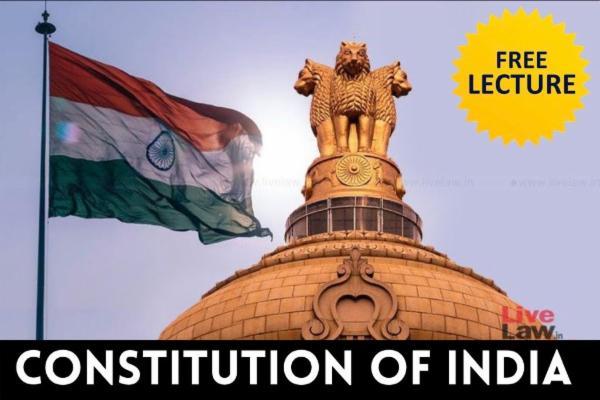 Constitution of India cover