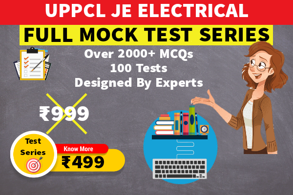 UPPCL JE Full Mock Test Series (Electrical) cover