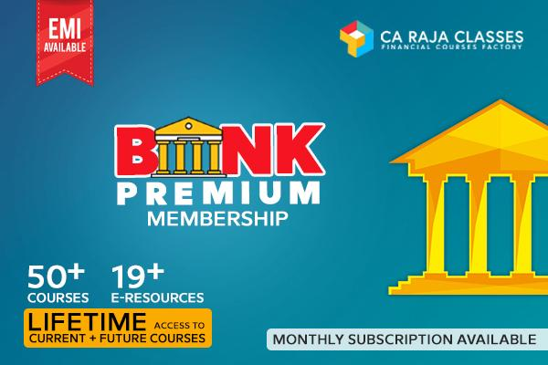 Banking Premium Membership cover