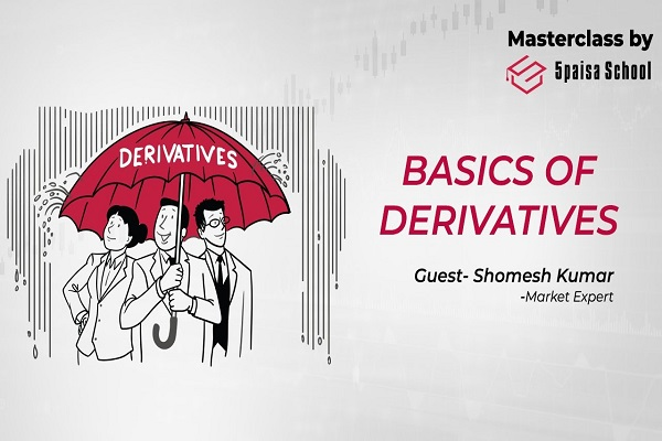 Basics of Derivatives, Part -1 | Future | Option | Forward | Hedging | MasterClass by 5paisa cover