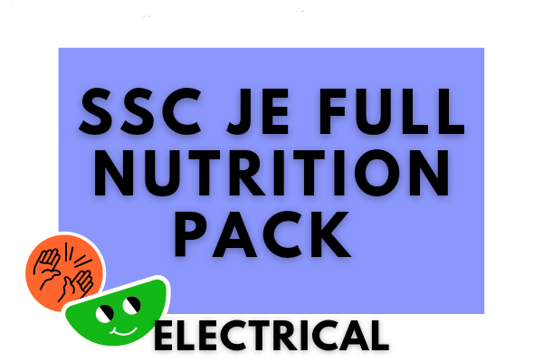 SSC JE Full Nutrition Pack (ELECTRICAL) cover