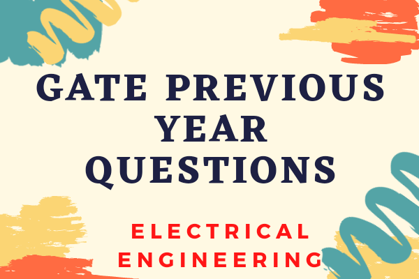 GATE Previous Year Papers for ELECTRICAL Engineering cover