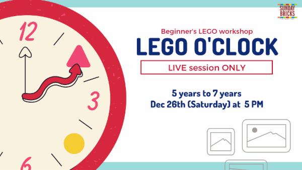LEGO O'Clock cover