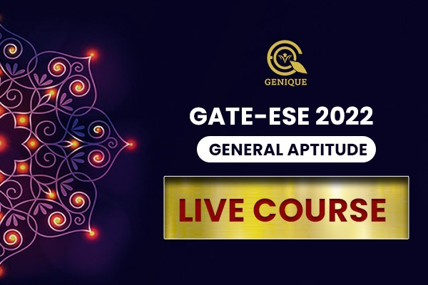 Verbal & Apti Live Classes (Genith-Gravity-Galaxy) for GATE 2022 cover