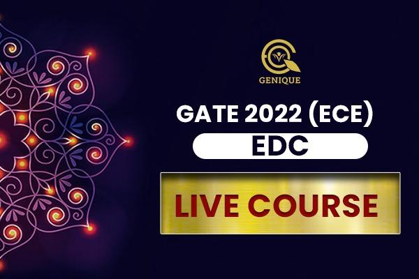 EDC Live Classroom (GATE 2022 EC) cover