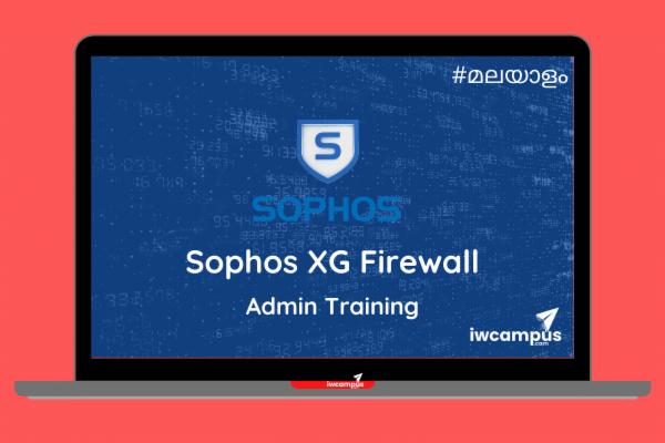 Sophos XG Firewall Admin Training cover