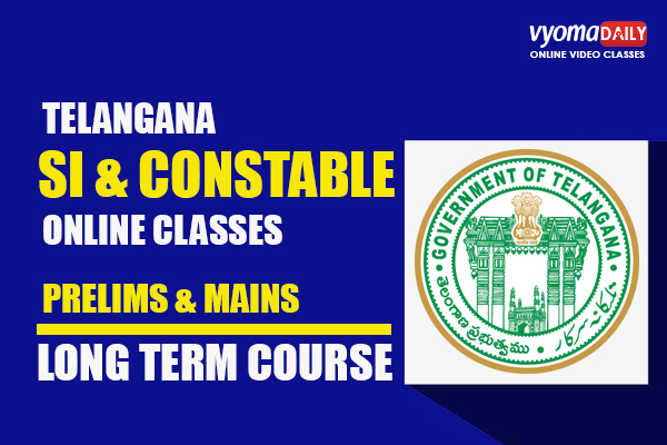 Telangana SI & Constable Online Coaching in Telugu cover