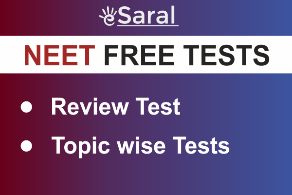 Free NEET Tests For You cover