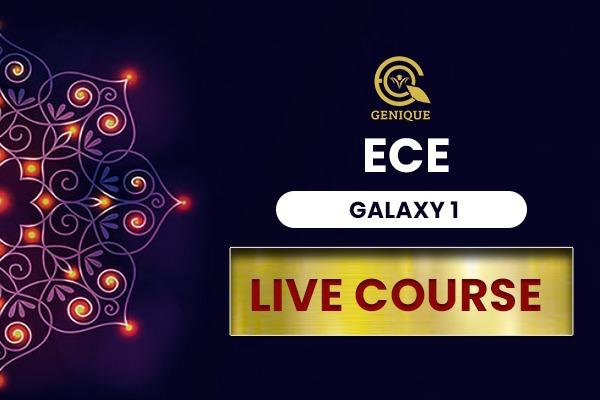 ECE GALAXY LIVE STREAM 1 Year cover