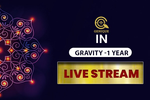 IN GRAVITY LIVE STREAM 1 Year cover