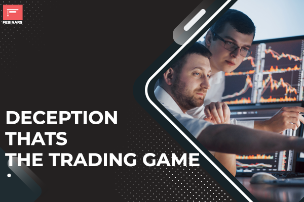 Deception - That's the trading game. cover