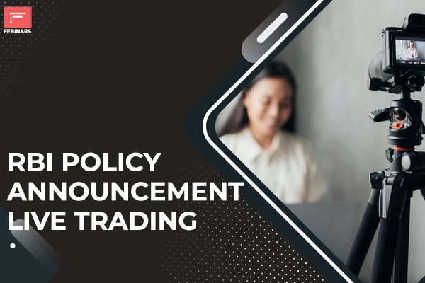 RBI Policy Announcement Live Trading cover