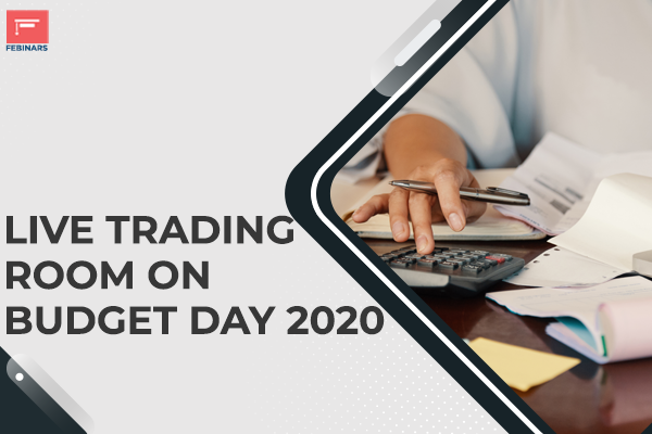 Live Trading Room on Budget Day 2020 cover