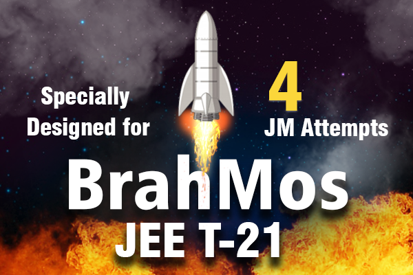 JEE T-21 BrahMos (For JM all 4 Attempts & JA 2021) cover