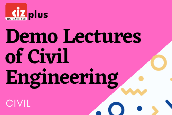 Demo Lectures of Civil Engineering cover