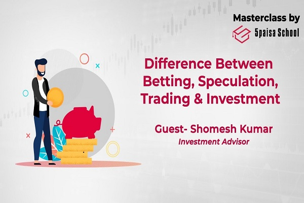 Basics of Derivatives, Part -2 | Difference Between Betting, Speculation, Trading & Investment cover