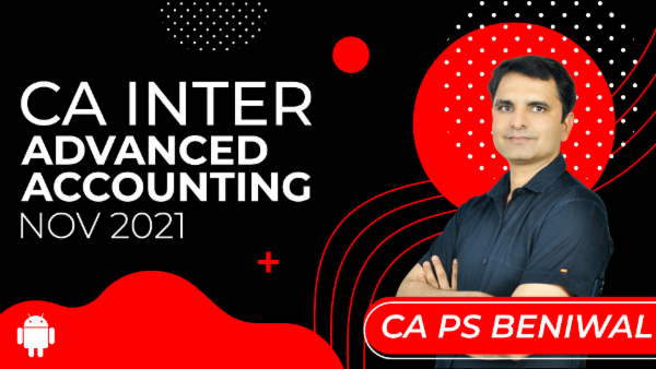 CA Inter Advanced Accounting for Nov 2021-Android App cover