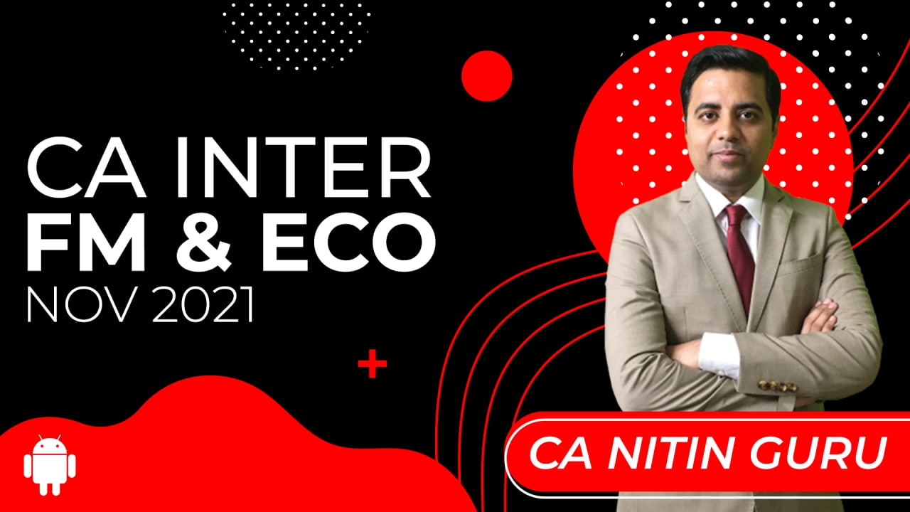 CA Inter FM & Eco for Nov 2021-Android App cover