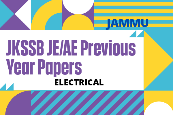 JKSSB JE/AE Previous Year Questions for Electrical | Jammu and Kashmir cover