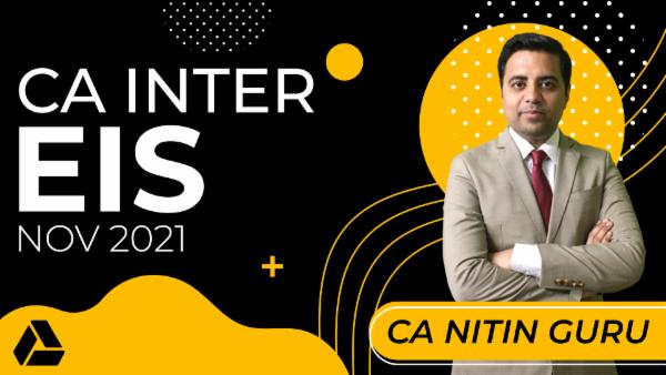 CA Inter EIS for Nov 2021-Online Classes cover