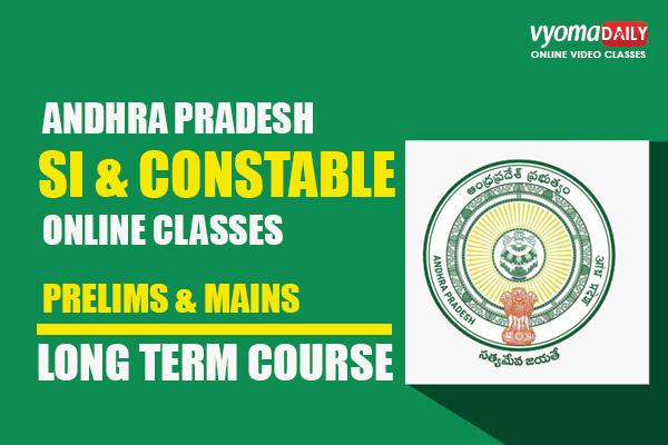 AP SI Constable Online Classes