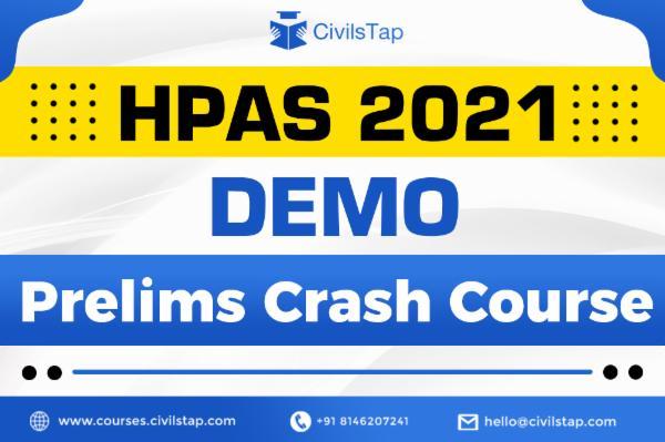 Demo HPAS Prelims Crash Course 2021 cover