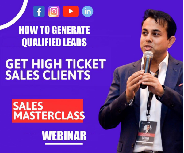 (Live Webinar) How To Generate Qualified Leads cover