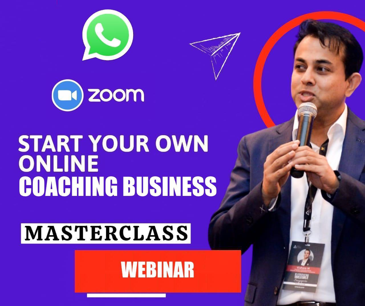 (Weekend Webinar) Start Your Own Online Coaching Business cover