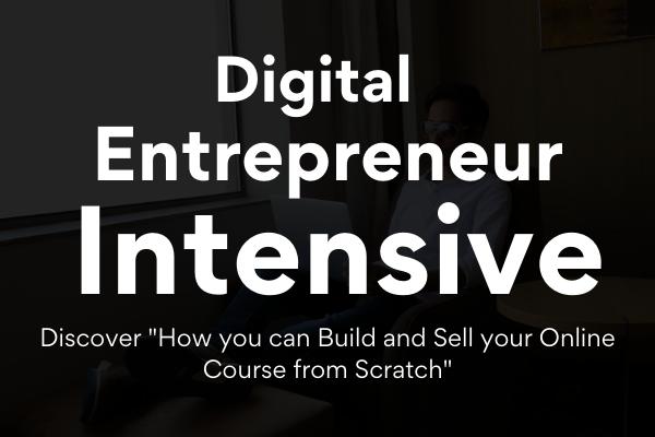 Digital Entrepreneur Intensive (Virtual Event) cover