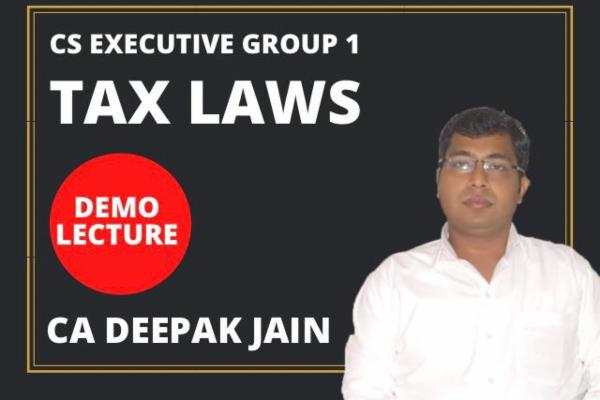 Tax Demo Lectures cover