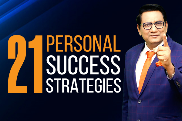 Recording: 21 Personal Success Strategies cover