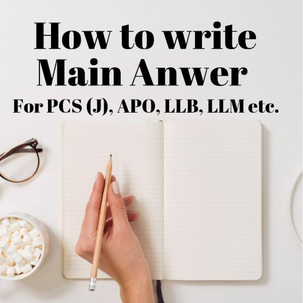 Main Answer Writing Course cover