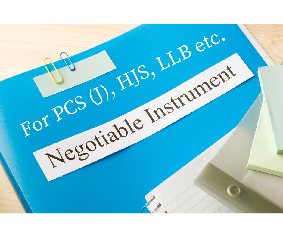 Negotiable Instrument Act cover