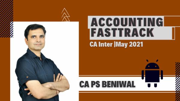 CA Inter Accounting Fast Track Course - Android App - May 2021 cover