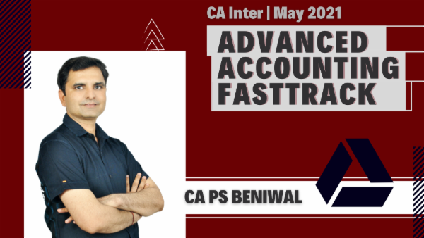 CA Inter Advanced Accounting Fast Track Course - Google Drive - May 2021 cover