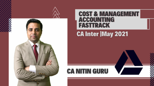 CA Inter Cost and Management Accounting Fast Track Online Classes - Google Drive -May 2021 cover