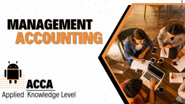 ACCA Management Accounting   Applied Knowledge/Foundation Level-App Based Classes cover