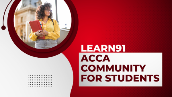 LEARN91 ACCA Community for Students cover