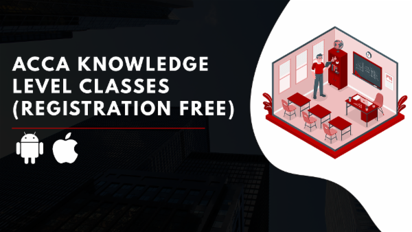 ACCA Registration+Knowledge Level/Foundation level Classes-App Based Classes cover