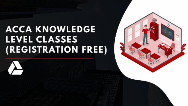 ACCA Registration + Knowledge Level/Foundation level Classes-Google Drive Classes cover